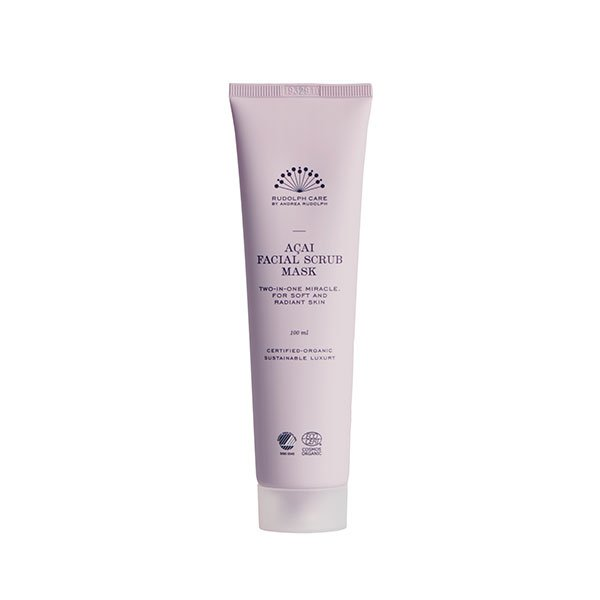 Acai Facial Scrub Mask tienda cosmetica natural barcelona espana Rudolph Care comprar belleza orgánica