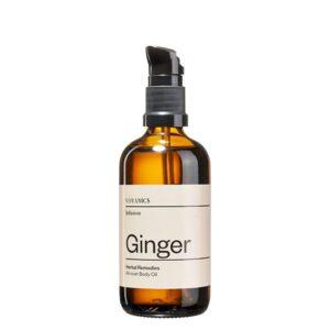 aceite corporal de jengibre voyanics tienda cosmetica natural barcelona espana comprar belleza organica