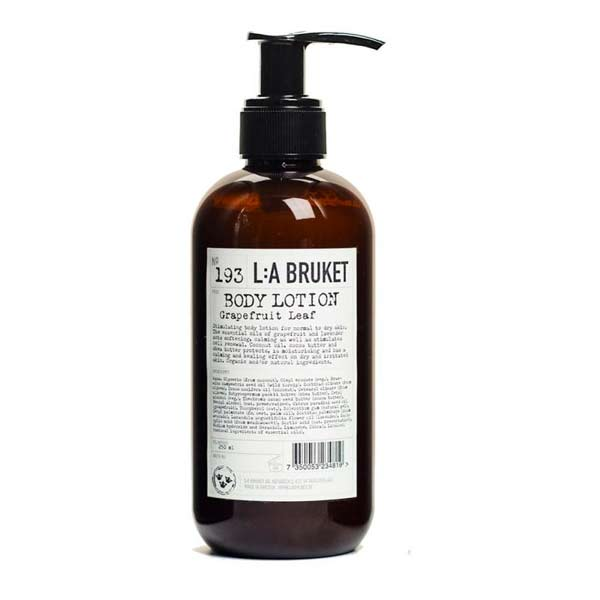body lotion grapefruit leaf la bruket tienda cosmetica natural barcelona espana comprar belleza organica