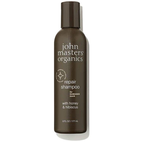 champu para cabello danado con miel e hibisco organico John Masters tienda cosmetica natural barcelona espana comprar belleza organica