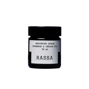 crema hidratante restoring cream rosewood indian fig rassa botanical tienda cosmetica natural barcelona espana comprar belleza organica