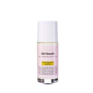 desodorante de limon y menta para mujer girl smells tienda cosmetica natural barcelona espana comprar belleza organica