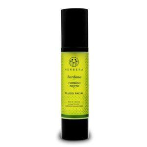 fluido facial de bardana y comino negro piel mixta grasa herbera tienda cosmetica natural barcelona espana comprar belleza organica