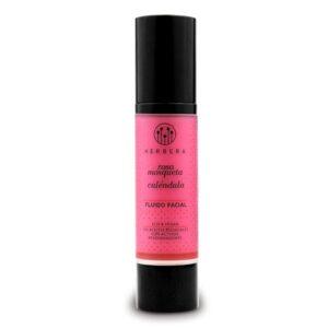 fluido facial de rosa mosqueta y calendula piel sensible herbera tienda cosmetica natural barcelona espana comprar belleza organica