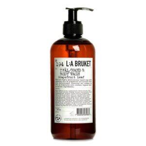 jabon liquido de hoja de pomelo la bruket tienda cosmetica natural barcelona espana comprar belleza organica