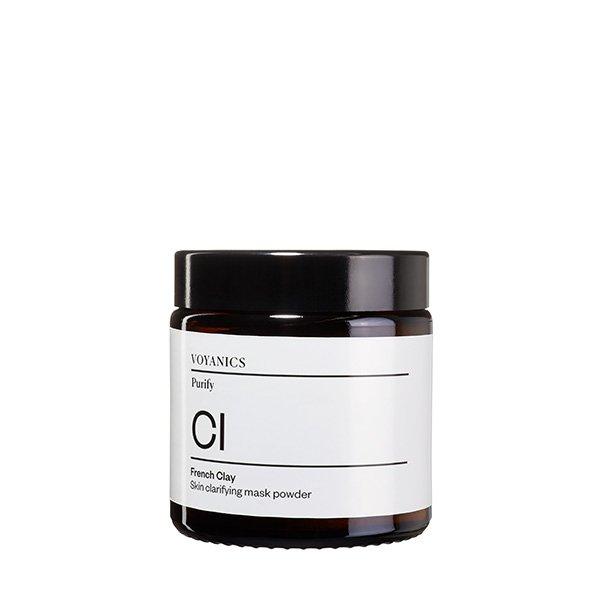 mascarilla en polvo de arcilla francesa voyanics tienda cosmetica natural barcelona espana comprar belleza organica