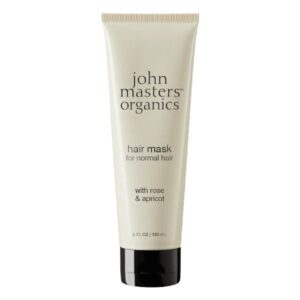 mascarilla para cabello natural con rosa y albaricoque John Masters tienda cosmetica natural barcelona espana comprar belleza organica