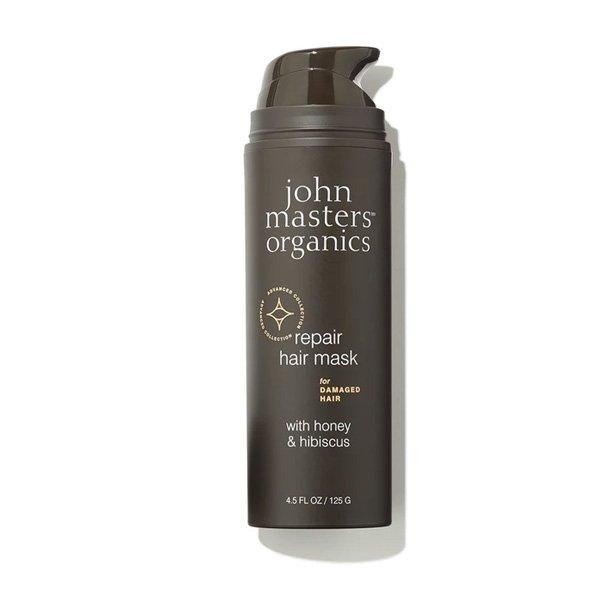 mascarilla reconstructora para cabello danado con miel e hibisco John Masters tienda cosmetica natural barcelona espana comprar belleza organica