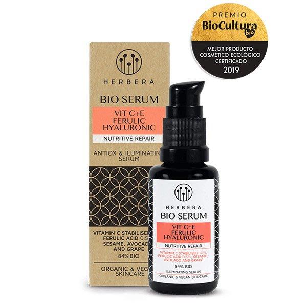 serum antiox y iluminador vit ceferulicohialuronico nut repair p normal seca herbera tienda cosmetica natural barcelona espana comprar belleza organica