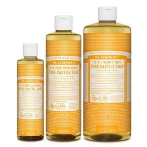 jabon liquido de castilla citricos dr bronners tienda cosmetica natural barcelona espana comprar belleza organica