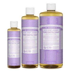 jabon liquido de lavanda dr bronners tienda cosmetica natural barcelona espana comprar belleza organica