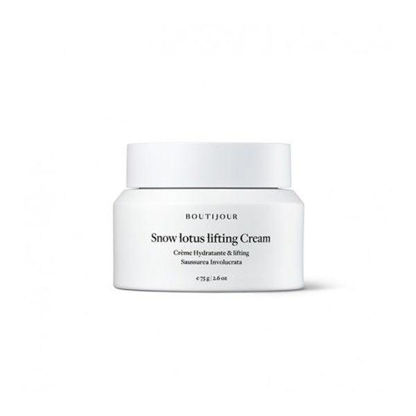 boutijour snow lotus lifting cream tienda cosmetica natural barcelona espana comprar belleza organica