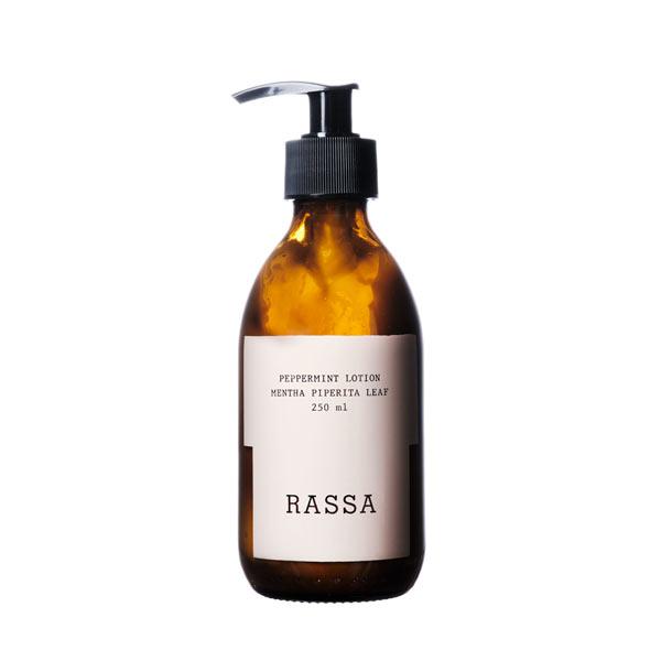 peppermint lotion locion de cuerpo hidratante rassa botanical tienda cosmetica natural barcelona espana comprar belleza organica